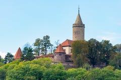SlottLeuchtenburg Thüringen Tyskland Royaltyfria Foton
