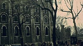 slottlondon torn arkivfilmer