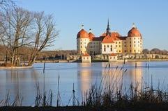 slottmoritzburg royaltyfria bilder