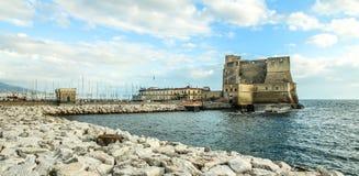 slottnaples hav fotografering för bildbyråer