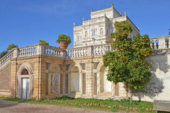 Slottpamphili i rome Arkivbild