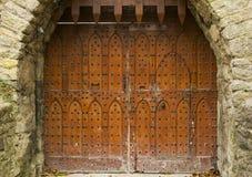 Slottport Arkivbild