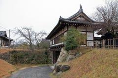 Slottport av den Koriyama slotten Arkivbilder