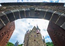 Slottportar arkivbild