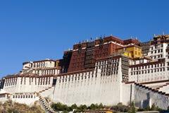 slottpotala splendent tibet arkivfoto