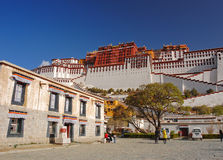 slottpotala tibet Royaltyfria Foton