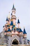 Slottprinsessor på Eurodisney arkivfoto