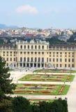 slottschonbrunn Royaltyfri Fotografi