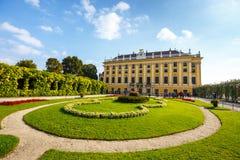 slottschonbrunn vienna Arkivfoto