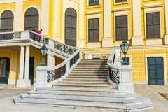 slottschonbrunn vienna _ Royaltyfria Foton