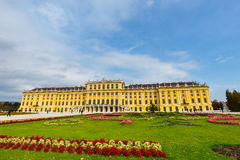 slottschonbrunn vienna _ Royaltyfria Bilder