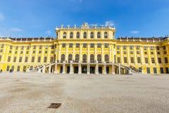 slottschonbrunn vienna _ Royaltyfri Bild