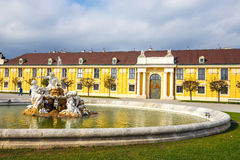 slottschonbrunn vienna Arkivfoton