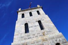 Slottsfjell-Turm in Tonsberg, Norwegen lizenzfreie stockbilder