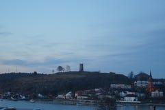 Slottsfjellet Stockfotos