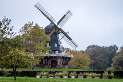 Slottsmollan windmill. Old Slottsmollan windmill in Malmo, Sweden, Europe Royalty Free Stock Images