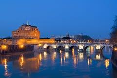 SlottSt Angelo Rome Royaltyfri Fotografi