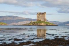 SlottStalker på soluppgång royaltyfria bilder