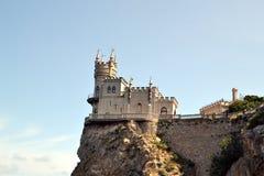 Slottsvalans rede i Krim Royaltyfri Fotografi