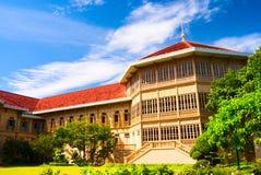 slottthailand vimanmek Fotografering för Bildbyråer