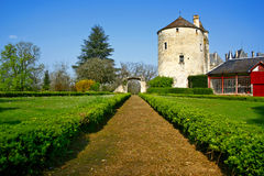 slottträdgård Royaltyfria Bilder