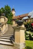 Slotttrappa Arkivbild
