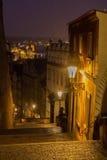 Slotttrappa i Prague Arkivbilder