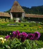 slottträdgårdar Arkivfoton
