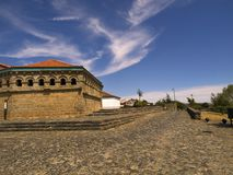 slottväg Arkivfoto