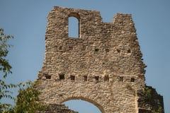 Slottvägg Fotografering för Bildbyråer