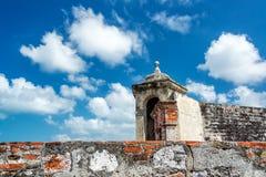 Slottvägg Arkivfoto