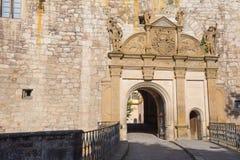 Slottvägg Royaltyfria Foton