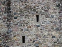 Slottväggtextur Royaltyfri Foto