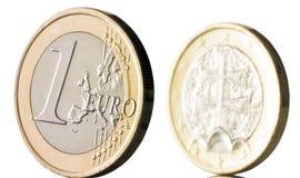 slovak евро стоковое изображение rf
