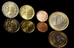 slovak евро стоковая фотография rf