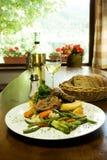 slovak ресторана традиционный стоковое изображение