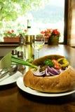 slovak ресторана традиционный стоковое изображение rf