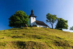 Slovak church in the village Martincek near Ruzomberok, Slovakia Stock Photos
