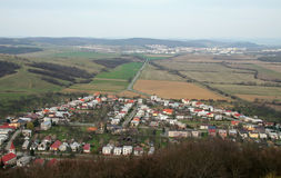 Slovak countryside Royalty Free Stock Photography