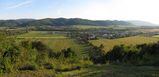 Slovak countryside Stock Image