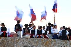 Slovak delegation Stock Image