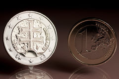 Slovak EURO Stock Images