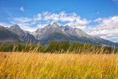 Slovak High Tatras Royalty Free Stock Photography