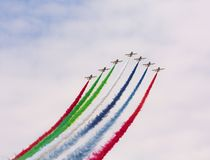 Airshow Slovakia SIAF 2017 Royalty Free Stock Images