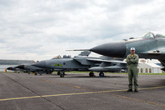 Slovak International Air Fest 2014 Royalty Free Stock Photography