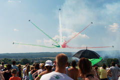 Slovak International Air Fest 2015, Sliac, Slovakia Stock Photo