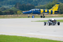 Slovak International Air Fest 2014 Stock Images