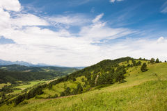 Slovak landscape Royalty Free Stock Photo