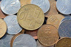 Slovak money Royalty Free Stock Photography