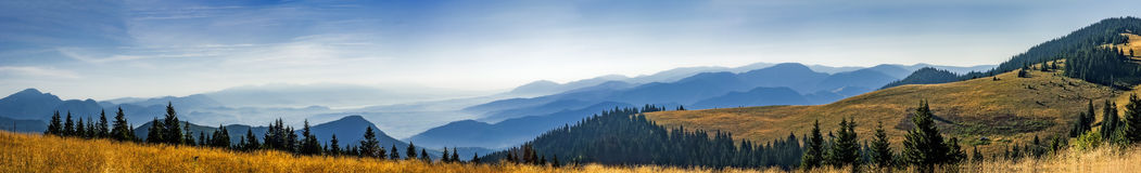 Slovak mountainous landscape Stock Images
